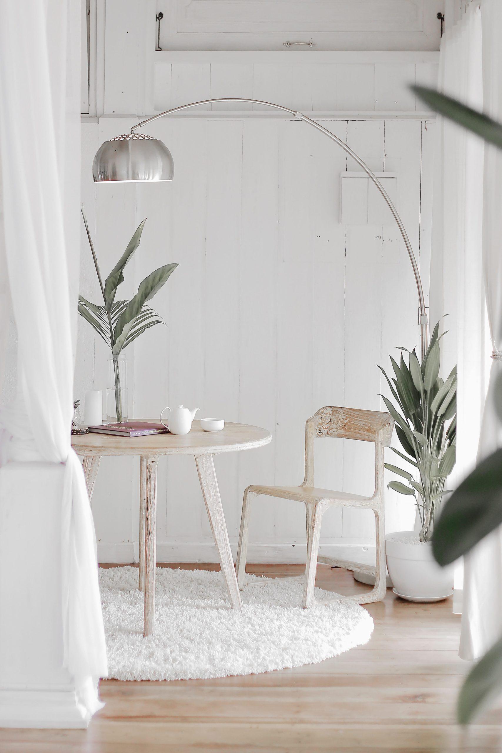 style blanc et moderne renovation